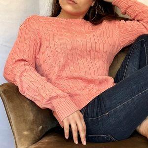 Brooks Brothers 346 Pink Salmon Sweater